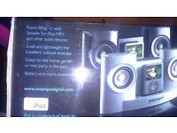 intempo ipod docking station,metallic silver,brand new condition!!