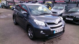 CLEAN 2010 FORD TOYOTA URBAN CRUISER 1.4 DIESEL 4x4 MET GREY 78K WITH F/S/H MAY 2018 MOT CD E/W E/M