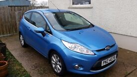 Ford fiesta 2011 blue excellant condition only 41000 miles great eunning car