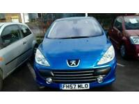 Peugeot 307 very low mileage also very clean car