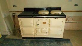 Aga 4 oven power Flue