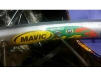 Mavic MA3 rear wheel