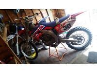 CRF450 MX Motorbike