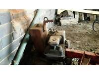 Pump - Water pump and pipes/hoses