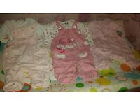 Girls 0-3 months clothing