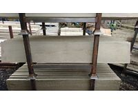 6ftx1ft Reinforced Concrete Smooth Gravel Boards -----£6------