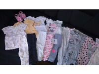 Baby girls clothes 6-9