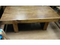 LOVELY CHUNKY MANGO COFFEE TABLE