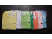 ***MENS LACOSTE TSHIRTS & JUMPERS***IDEAL XMAS GIFTS***100% AUTHENTIC
