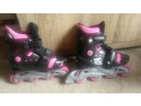 No Fear Girls Roller Skates