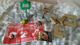 Star wars angry birds jabba's palace complete set unboxed with instructions