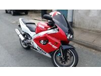 YAMAHA Thunderace YZF 1000R RED, 11months MOT, nice and fast bike!!!