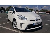 Toyota prius t4 new shape one company owner full toyota service history half leather camera uk model