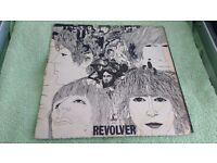 THE BEATLES - REVOLVER - VINYL L.P-RARE DR.ROBERT PRESS- MONO