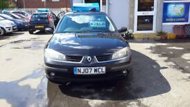 Renault laguna top of the range model can come with a 3 months warranty