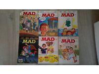 MAD MAGAZINES / COMICS 1979 - 1985 ; 78 comics.