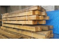 Oak beams from 6x6 to 12x12