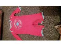 Girls 3-6month converse outfit