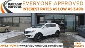 2011 Kia Sportage SX*EVERYONE APPROVED*APPLY NOW DRIVE NOW!
