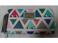 NEW Little Moose triangle face print wallet