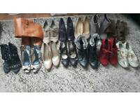 Bundle of shoes and boots, size 8!