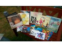 VINYL LP,S AND SINGLES RECORDS