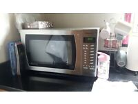 Panasonic Microwave Inverter 900w Stainless Steel
