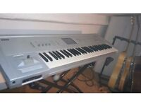 Korg Triton Classic 61 Key Synth Keyboard with stand