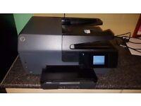 HP OfficeJet Pro 6830 All-in-One Inkjet Printer WiFi print scan copy fax - web