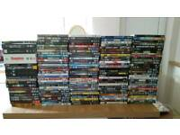 150+ dvds and box sets.