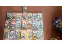 22 VHS Thomas and friends ages ranging