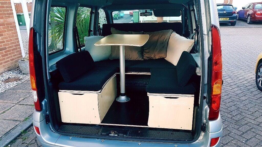 2007 renault kangoo 1 6 automatic campervan in kemsley. Black Bedroom Furniture Sets. Home Design Ideas