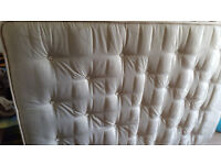 Double mattress - little used - in good clean condition