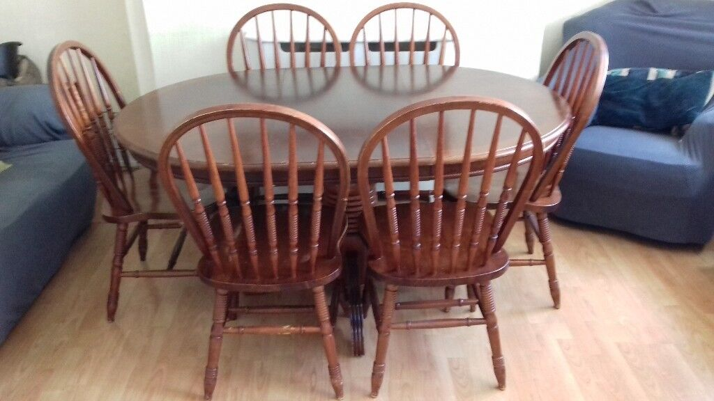 Prime Extending Dining Table Chairs For Upcycle In Dalry North Ayrshire Gumtree Caraccident5 Cool Chair Designs And Ideas Caraccident5Info