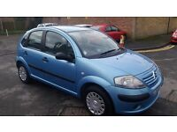 1.4 CITREON C3 DIESEL 2004 YEAR95000 MILE 95000MILE MOT 19/7/17HISTORY £20 YEAR ROAD TAX DRIVE GOOD