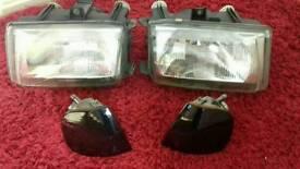 Vw caddy mk2 headlights and indicators