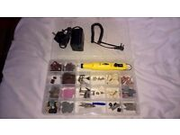 Rolsen Finishing Fine rotary power multi tool with Bucket load of extra bits Dremel