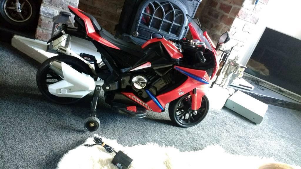 Motorbike/battery powered