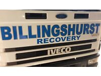 24hr Accident & Breakdown Recovery Service Home starts & help through out West Sussex - NEW BATTERY?