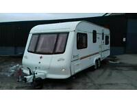 Immaculate 5 berth caravan with full awning and accessories