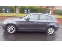 BMW 118d grey diesel