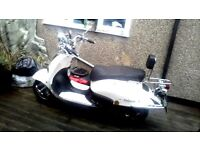 lexmoto valencia 50 cc in cream
