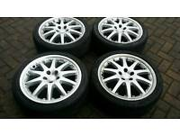 FORD MONDEO 18 INCH ALLOY WHEELS 5X108 ST RS FOCUS CONNECT ST220 KUGA C MAX