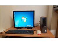 Ultra Small Complete Dell Desktop Computer Wifi Windows 7 Office 4GB RAM Wifi