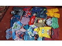 23pc of Boys clothes 3-4years