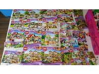 Job lot of Lego friends