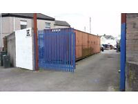 40 ft Secure Container TO LET With off road parking.