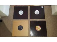 """4 x RARE Drum & Bass (Liquid / Deep) 12"""" Records all mid to late 2000s"""