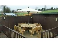 A wide range of quality garden furniture all hand made