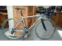 Giant tcr road bike with carbon